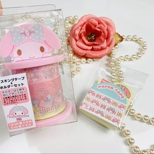Sanrio Original My melody 3 rolls with the holder